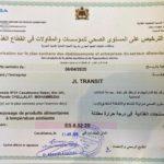 JL TRANSIT entrepôt certifié par l'ONSSA